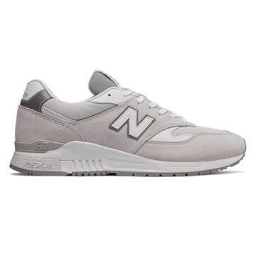 New Balance 840复古鞋 中性款 轻量舒适 经典休闲, 米白色
