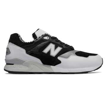 New Balance 878系列复古鞋, 黑色/白色