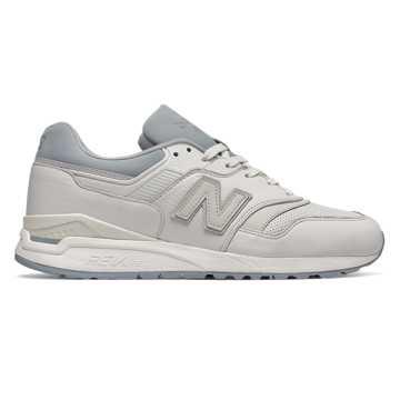 New Balance 997复古鞋 男款 轻量舒适 经典休闲, 白色