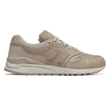 New Balance 997复古鞋 中性款 轻量舒适 经典休闲, 月光褐
