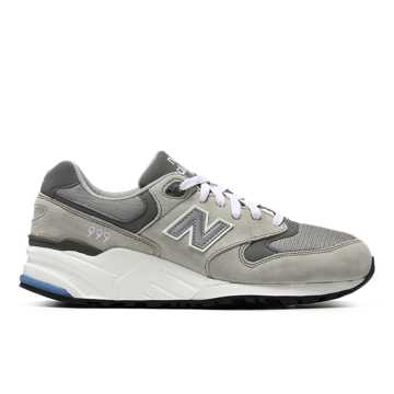 New Balance 999系列 中性款 英伦复古 街头潮流, 灰色