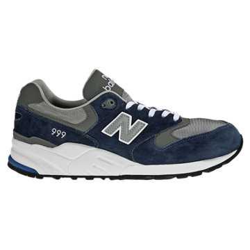 New Balance 999系列 中性款 英伦复古 街头潮流, 藏蓝色