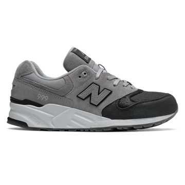 New Balance 999系列复古鞋, 黑色