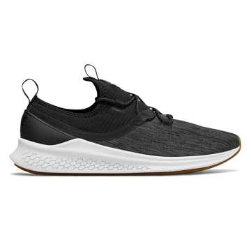New Balance Fresh Foam Lazr Denim, Black with White
