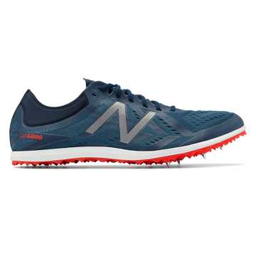 New Balance Spike 5000v5, Blue Ashes with Flame & Metallic Silver