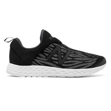 New Balance Fresh Foam Zante Slip-on, Grey with Black