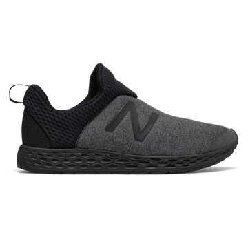 New Balance Fresh Foam Zante Slip-on 男鞋 缓震透气 鞋靴设计, 黑色