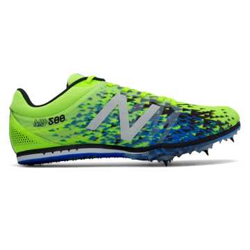 New Balance MD500v5 Spike, Firefly with Black