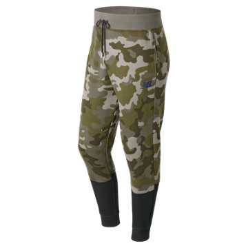 New Balance Essentials Sweatpant, Camo Green