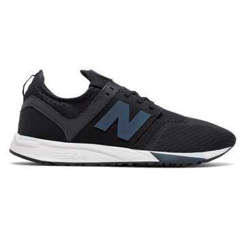 New Balance 247 Sport, Black with Spearmint