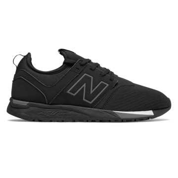 New Balance 247 Classic, Black with Grey