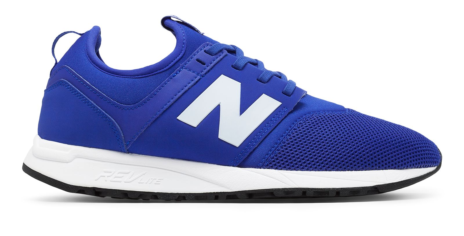 NB 247 Classic, Blue with White