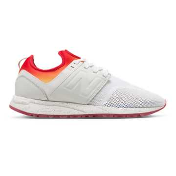 New Balance New Balance x Stance 247, White with Red