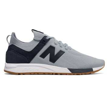 New Balance 247 Engineered Mesh, Light Slate with Outerspace