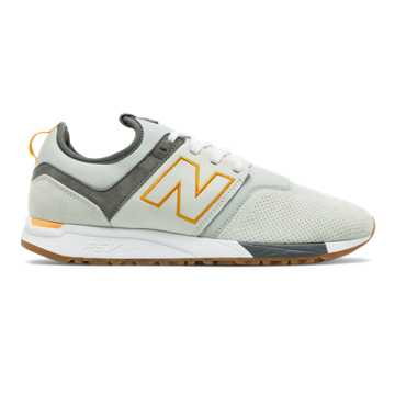 New Balance NB x J.Crew 247, Bone with Silver