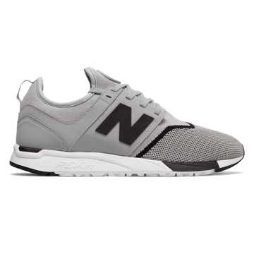 New Balance 247 Sport, Grey with Black