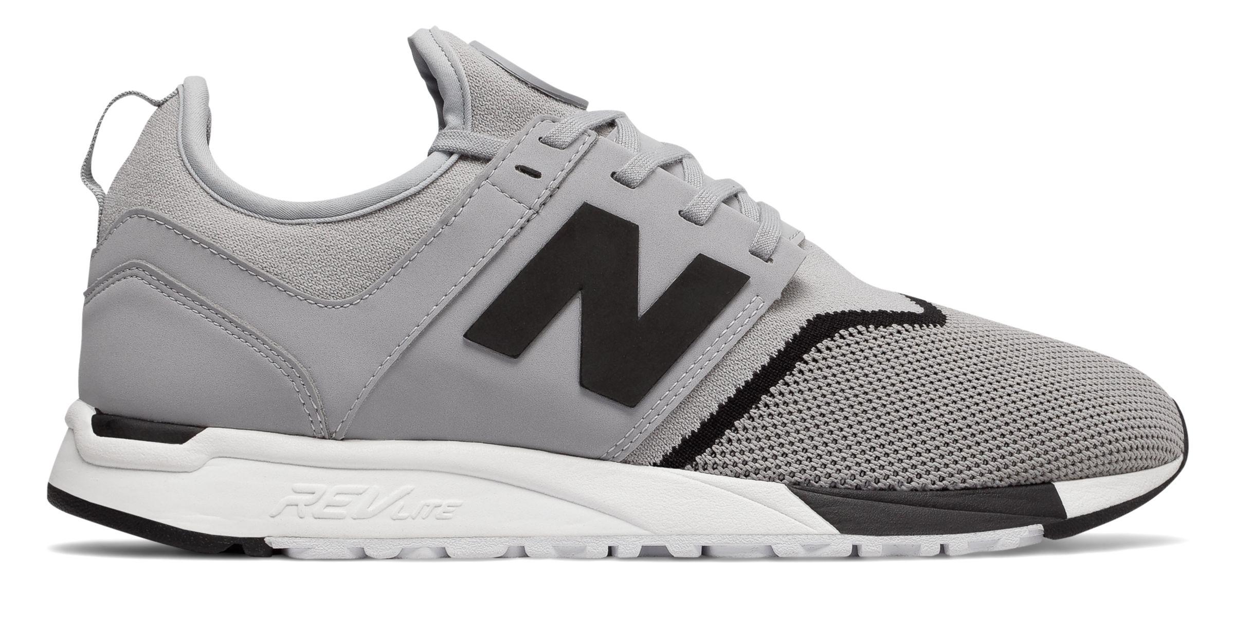 NB 247 Sport, Grey with Black
