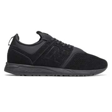 New Balance 247 Suede, Black