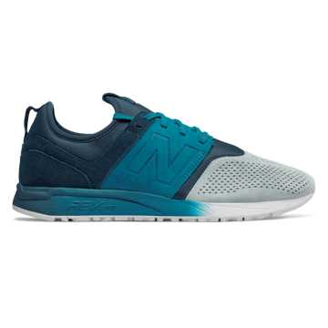 New Balance Suede 247, Stardust with North Sea