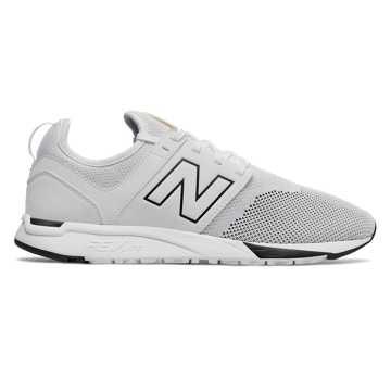 New Balance 247 Mesh 男款 轻量舒适 经典耐磨, 白色