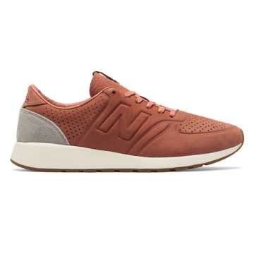 New Balance 420 Deconstructed, Salmon with Grey