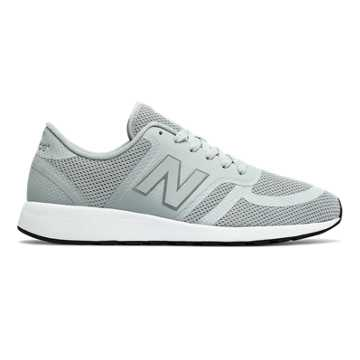 New Balance 420 Re-Engineered, Light Grey with Blue Atoll