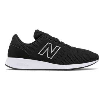 New Balance 420 Re-Engineered, Black with Dark Grey