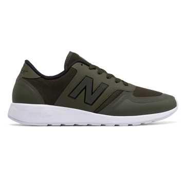 New Balance 420系列复古鞋, 军绿色