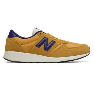 New Balance 420复古鞋 中性款 经典复古 轻量舒适, 姜黄色