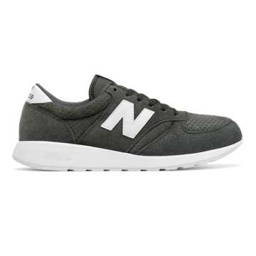 New Balance 420 Re-Engineered Suede, Grey with White