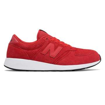 New Balance 420复古鞋 中性款 经典复古 轻量舒适, 红色