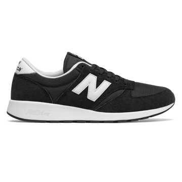 New Balance 420复古鞋 男款 经典复古 轻量舒适, 黑色