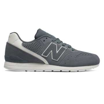 New Balance 696 Re-Engineered, Grey with White
