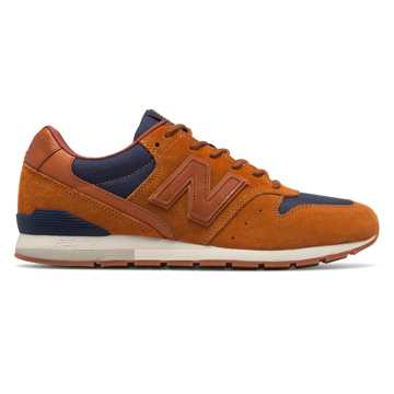 New Balance 696, Brown with Dark Cyclone