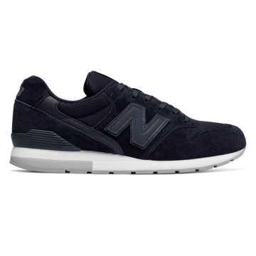 New Balance 996复古鞋 男款 轻量舒适 经典休闲, 夜空黑