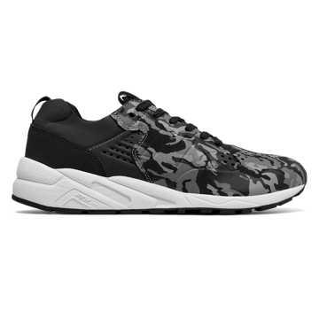New Balance 580复古鞋 轻量舒适 街头主义, 迷彩黑