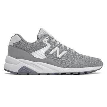 New Balance 580复古鞋 轻量舒适 街头主义, 灰色