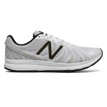 New Balance FuelCore Rush v3 Viz Pack, White with Gold & Black