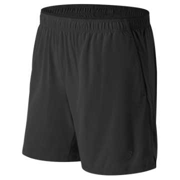 New Balance Woven 2-in-1 Short, Black