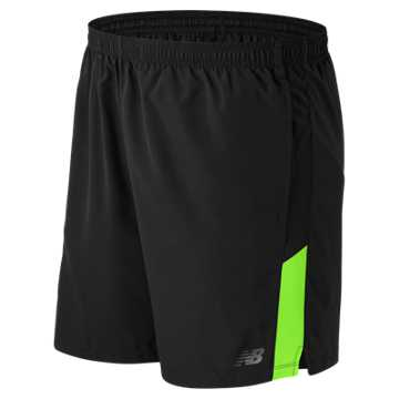 New Balance Accelerate 7 Inch Short, Energy Lime