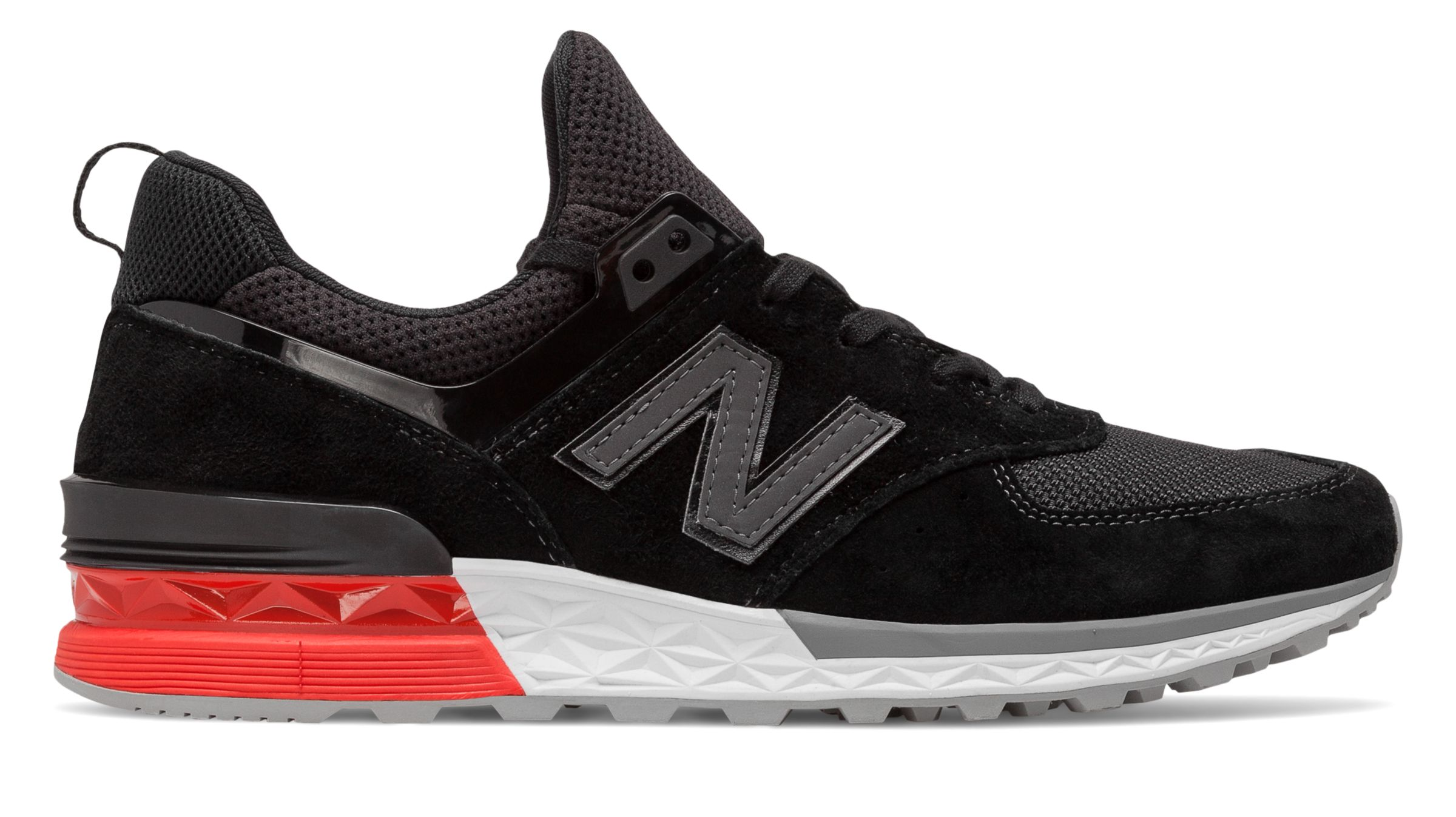 NB 574 Sport, Grey with Black