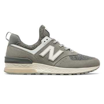 New Balance 574 Sport, Grey with White