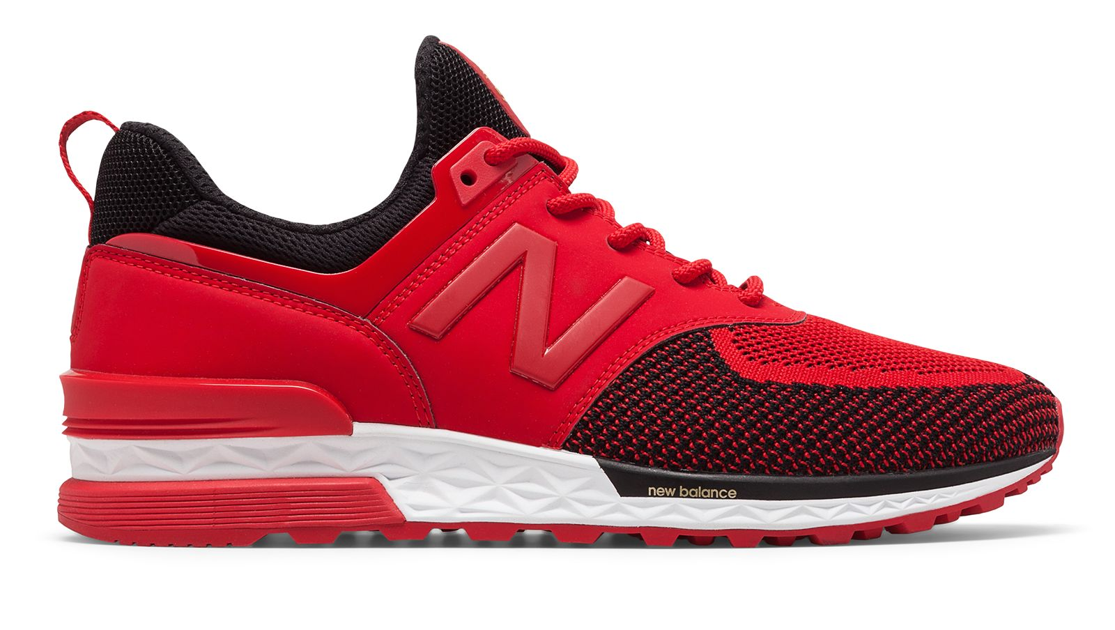 New Balance 574 Sport Chinese New Year, Red with Grey