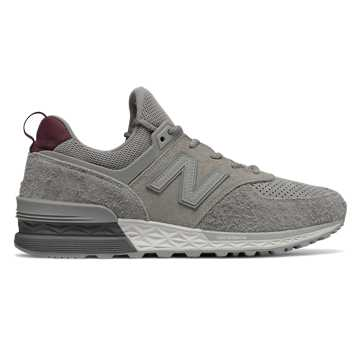 New Balance 574 Sport Peaks to Streets, Team Away Grey with Nimbus Cloud