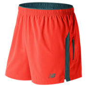 NB Impact 5 Inch Track Short, Alpha Orange with Supercell