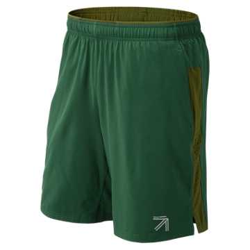 New Balance J.Crew 9 Inch 2 in 1 Short, Team Dark Green