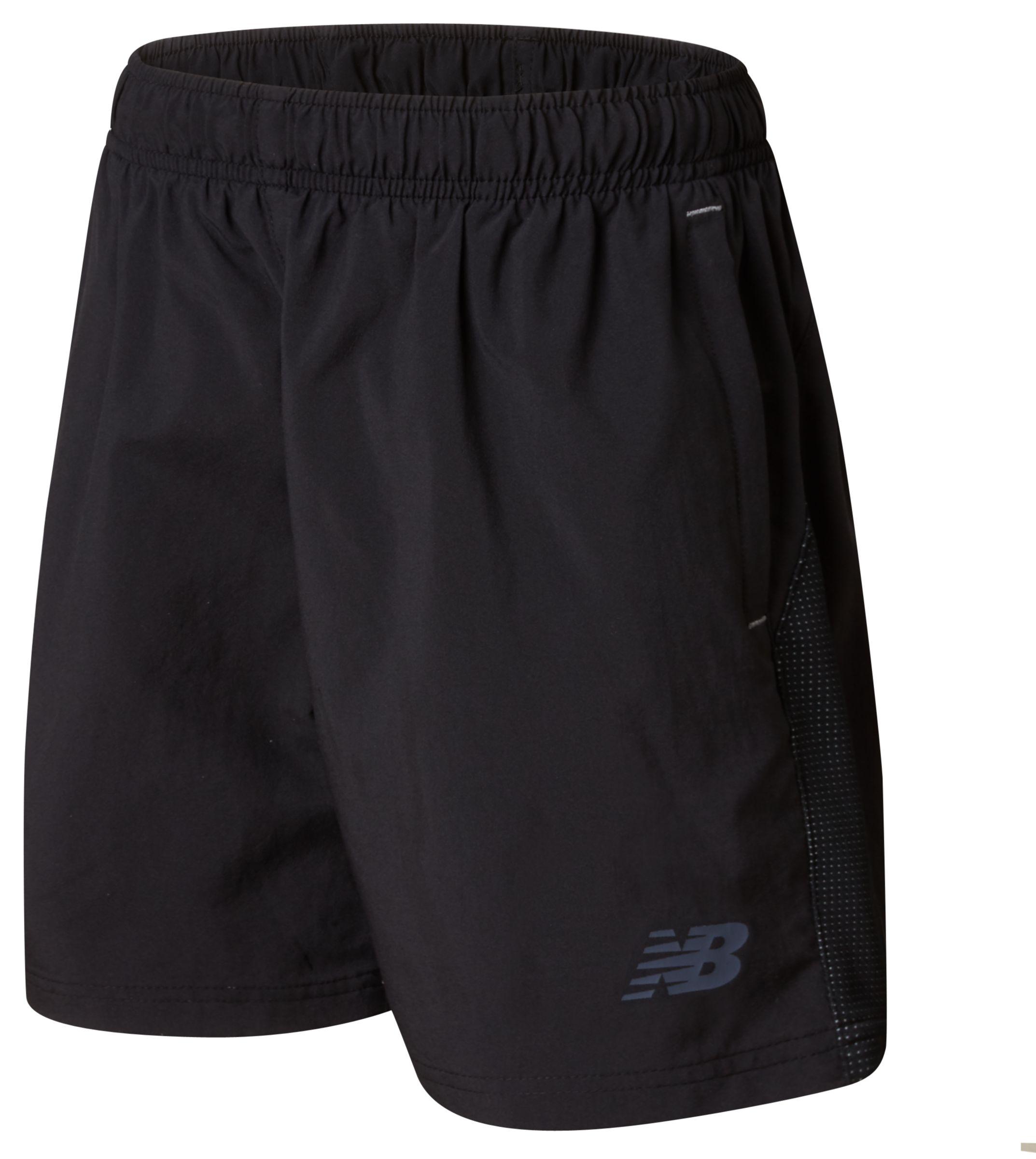 NB CFC Elite Training Woven Short, Black