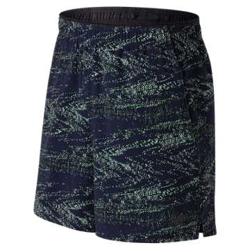 New Balance 2 in 1 Graphic Short, Pigment with Interference Stripe