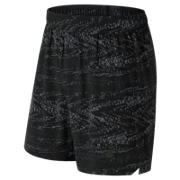 NB Shift Graphic Short, Black with Interference Stripe