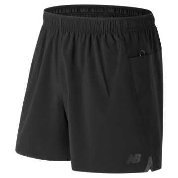 New Balance Precision 5 Inch Run Short, Black